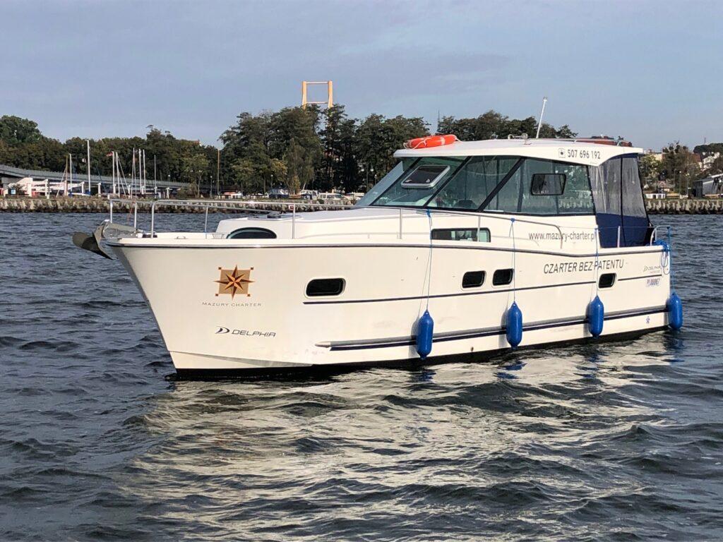 czarter jachtów motorowych bez patentu